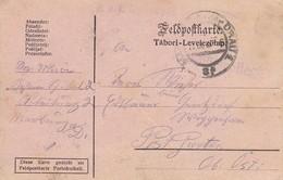 Feldpostkarte - K.u.k. Reservespital Nr. 2 In Marburg Nach Wippenham - 1915 (39320) - 1850-1918 Imperium