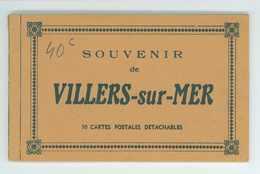 14 -- VILLERS SUR MER -- CARNET COMPLET DE 10 CARTES....... - Villers Sur Mer