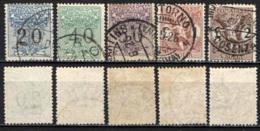 ITALIA REGNO - 1924 - SOGGETTI ALLEGORICI - SEGNATASSE PER VAGLIA - USATI - 1900-44 Victor Emmanuel III.