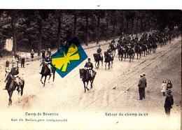 CAMP DE BEVERLOO - Retour Du Champ De Tir - Superbe Carte Très Animée Avec Cavaliers - Leopoldsburg (Kamp Van Beverloo)