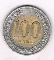 100 LEKE 2000 ALBANIE /1065/ - Albanien