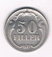 50 FILLER  1926 HONGARIJE /1071// - Hongrie