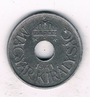 20 FILLER  1941 HONGARIJE /1072// - Ungarn
