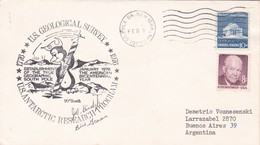US GEOLOGICAL SURVEY, US ANTARCTIC RESEARCH PROGRAM. CIRCULEE 1976. SIGNEE. COLECCTION VOZNESENSKI - BLEUP - Forschungsstationen & Arctic Driftstationen