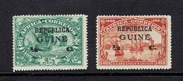 PORTUGESE GUINEA..1913 Overprints - Portuguese Guinea