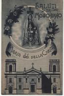 Santino Cartolina Antico Non Viaggiata Madonna Della Carità Da Moschiano - Avellino - Religione & Esoterismo