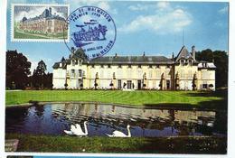 Carte Maximum Château De  La MALMAISON (92) - Cartoline Maximum