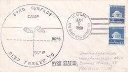 BYRD SURFACE CAMP DEEP FREEZE BYRD STATION, CIRCULEE 1980. SIGNEE. COLECCTION VOZNESENSKI - BLEUP - Estaciones Científicas