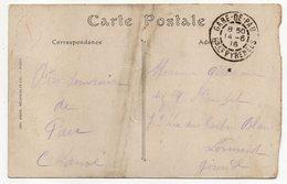 Cachet  Manuel  GARE-DE-PAU--64 -Basses Pyrénées  Sur Carte Postale PAU--Le Palais D'Hiver - Marcophilie (Lettres)