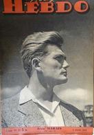 WWII- LIBÉRATION- Revue MAGAZINE HEBDO N°20 (11/03/1945) LIBÉRATION DE COLMAR- EDDA MUSSOLINI- RAFLE À LYON - Livres, BD, Revues