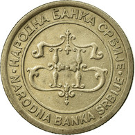 Monnaie, Serbie, 5 Dinara, 2003, TTB, Copper-Nickel-Zinc, KM:36 - Serbia