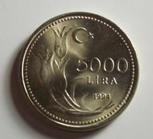 Turkey 5000 Lira 1994 Varnished - Turquie