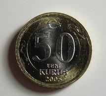 Turkey 50 Kurus 2005 Varnished - Turquie