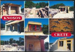 °°° GF605 - GREECE - CRETE KNOSOS - 2004 With Stamps °°° - Grecia