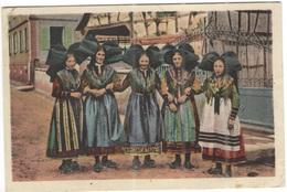 FRANCIA - France - 1949 - 8F Marianne De Gandon - 67 Bas Rhin - Souvenir D'Alsace, Costume Traditionnel - Viaggiata Da S - Non Classificati