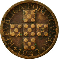 Monnaie, Portugal, 10 Centavos, 1943, TB+, Bronze, KM:583 - Portugal