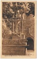 FRANCIA - France - 1945 - 5F Marianne De Gandon - 29 Finistère - Moëlan-sur-Mer - Le Calvaire De Saint Philibert - Viagg - Moëlan-sur-Mer