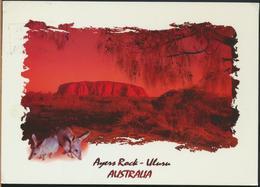 °°° GF610 - AUSTRALIA - AYERS ROCK ULURU - 2000 °°° - Uluru & The Olgas
