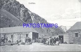 107271 CHILE CORDILLERA VISTA PARCIAL POSTAL POSTCARD - Chile