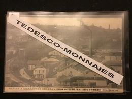 Papier à Cigarettes Zig Zag Usine De Publier Près Thonon - Autres Communes