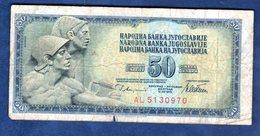 JUGOSLAVIA   50   DINARI   1978  CIRCOLATO - Yougoslavie