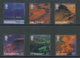 GRANDE-BRETAGNE - 2004 - Yvert  2565/2570 - NEUFS ** Luxe MNH - Série Complète 6 Valeurs - Paysages Du Pays De Galles - Ongebruikt
