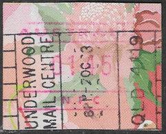 Australia 1994 Machine Label Waratah $1.45 Good/fine Used [39/31923/6D] - ATM/Frama Labels