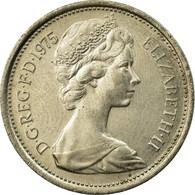 Monnaie, Grande-Bretagne, Elizabeth II, 5 New Pence, 1975, SUP, Copper-nickel - 1971-… : Monnaies Décimales