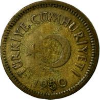 Monnaie, Turquie, 5 Kurus, 1950, TB, Laiton, KM:887 - Turquie