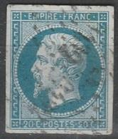 FRANCE - N°14 - VARIETE POSTFS - L07 - 1853-1860 Napoleon III