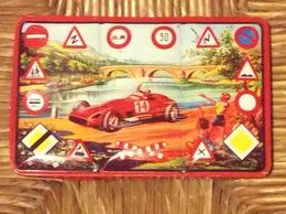 BOÎTE DE PEINTURE MÉTAL VISUEL *Code De La Route *Formule 1 ... - Autres Collections
