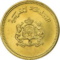 Monnaie, Maroc, Al-Hassan II, 10 Santimat, 1987, Paris, SUP, Aluminum-Bronze - Maroc