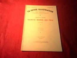 LA PETITE ILLUSTRATION °° DU  15 JANVIER 1938  /  SAINTE MARIE DU FEU   /  MARCELLE TINAYRE - Libros, Revistas, Cómics