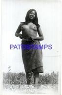 107297 PARAGUAY COSTUMES CHACO COSTUMES NATIVE INDIO GUARANI SEMI NUDE PHOTO NO POSTAL POSTCARD - Paraguay
