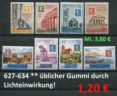 San Marino - Michel 627-634 - ** Mnh Neuf Postfris - Gummi Wie üblich / Gum As Usual - San Marino
