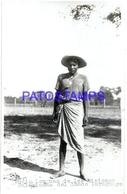 107305 PARAGUAY CHACO COSTUMES NATIVE INDIO LENGUAS DE LAS MISIONES SALECIANAS PHOTO NO POSTAL POSTCARD - Paraguay