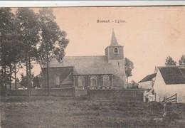 Bomal ,( Ramillies ,Brabant ), Eglise,; RARE - Ramillies