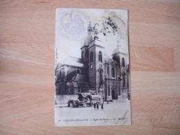 Chalon Sur Saone Magasin D Approvisionnement Du Service De Sante Cachet Franchise Postale Militaire Guerre 14.18 - Guerre De 1914-18
