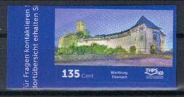 Deutschland THPS 'Wartburg Eisenach' / Germany 'Wartburg Castle In Eisenach' **/MNH 2018 - Castles