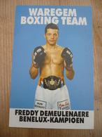 Waregem Boxing Team Freddy Demeulenaere - Boksen