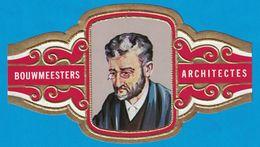 1 BAGUE DE CIGARE GRAND FORMAT BOUWMEESTERS ARCHITECTES K. P. C. DE BAZEL NEDERLAND PAYS BAS   (  119 MM ) - Bagues De Cigares