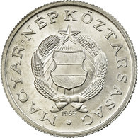 Monnaie, Hongrie, Forint, 1965, SUP, Aluminium, KM:555 - Hongrie