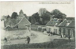 CPA  60 - LA NEUVILLE EN HEZ -   Route De Mouy - - France