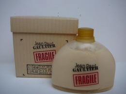 """GAULTIER """" FRAGILE"""" LAIT POUR LE CORPS  40 ML LIRE ET VOIR !! - Miniatures Modernes (à Partir De 1961)"""