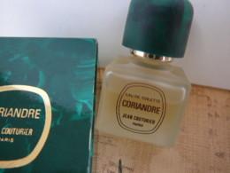 """JEAN COUTURIER"""" CORIANDRE"""" MINI EDT 9 ML   LIRE ET VOIR !! - Miniatures Modernes (à Partir De 1961)"""