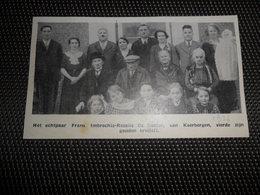"""Origineel Knipsel ( 2253 ) Uit Tijdschrift """" Ons Volk """"  1936 :  Keerbergen - Vieux Papiers"""