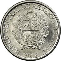Monnaie, Pérou, Centimo, 2008, Lima, TTB, Aluminium, KM:303.4a - Pérou