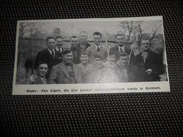 """Origineel Knipsel ( 2258 ) Uit Tijdschrift """" Ons Volk """"  1936 :  Tir à L' Arc  Boogschieten  Betekom - Vieux Papiers"""