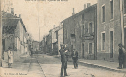 26 // SAINT UZE    Quartier Des Rivoires   ANIMEE Douzet Edit, ** - Other Municipalities
