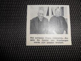 """Origineel Knipsel ( 2262 ) Uit Tijdschrift """" Ons Volk """"  1936 :   Keerbergen - Vieux Papiers"""